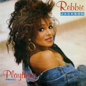 Single Cover Rebbie - Plaything Jackson