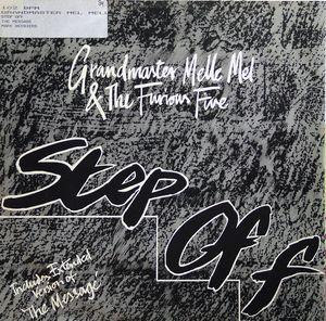 Single Cover Grandmaster - Step Off Melle Mel