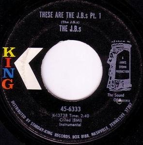 Single Cover The - These Are The J.b.'s J. B.'s