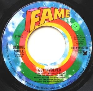 Single Cover George - Get Involved Soule