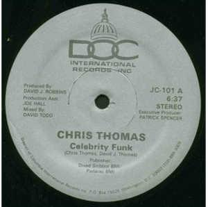 Single Cover Chris - Celebrity Funk Thomas