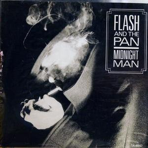 Single Cover Flash And The Pan - Midnight Man