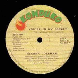 Single Cover Reanna - You're In My Pocket Coleman
