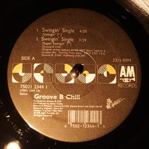 Single Cover Groove B Chill - Swingin' Single