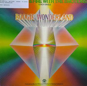 Single Cover Wind & Fire - Boogie Wonderland (feat. Emotions) Earth