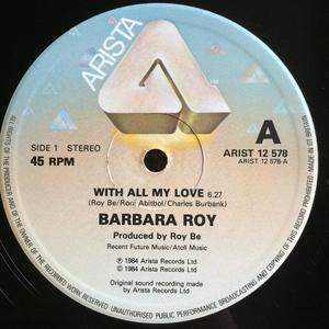 Single Cover Barbara - With All My Love Roy