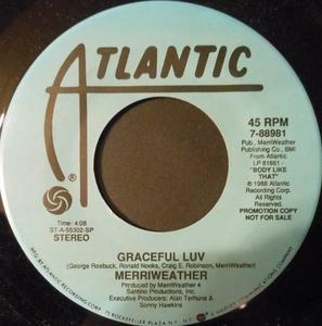Single Cover Merriweather - Graceful Luv