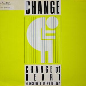 Single Cover Change - Change Of Heart