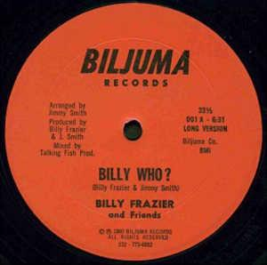 Single Cover Billy - Billy Who? Frazier And Friends