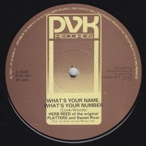 Single Cover Herb - What's Your Name Reed And Sweet River