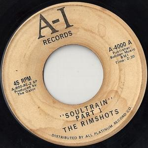 Single Cover The - Soultrain Rimshots