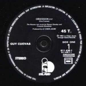 Single Cover Guy - Obsession Cuevas