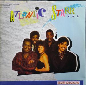 Single Cover Atlantic Starr - Silver Shadow