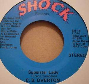 Single Cover C.b. - Superstar Lady Overton