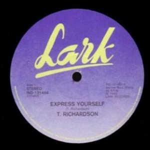 Single Cover T. - Express Yourself Richardson