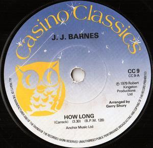Single Cover J.j. - How Long Barnes