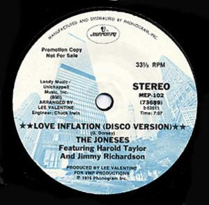 Single Cover The - Love Inflation Joneses