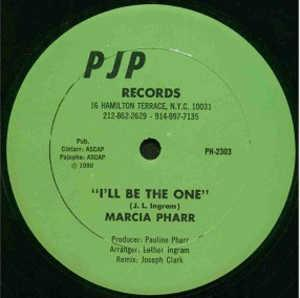 Single Cover Marcia - I'll Be The One Pharr