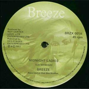 Single Cover Breeze - Midnight Ladies
