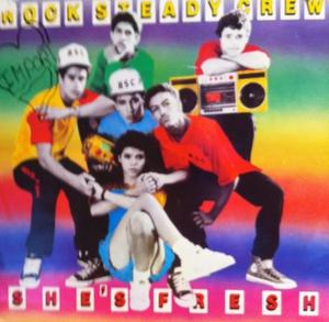 Single Cover Rock Steady Crew - She's Fresh