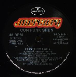 Single Cover Con Funk Shun - Electric Lady