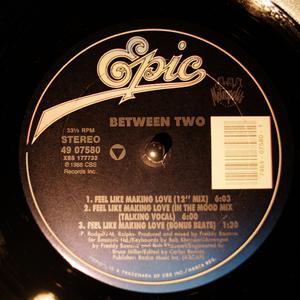 Single Cover Between Two - Feel Like Making Love