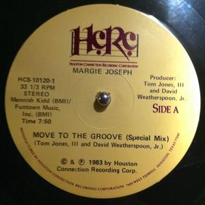 Single Cover Margie - Move To The Groove Joseph