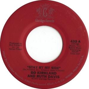Single Cover Bo Kirkland - Stay By My Side