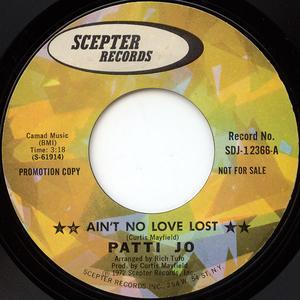 Single Cover Patti - Ain't No Love Lost Jo