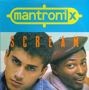 Single Cover Mantronix - Scream