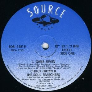 Single Cover Chuck Brown And The Soul Searchers - Game Seven