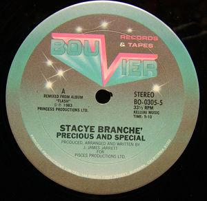 Single Cover Stacey - Precious And Special Branche