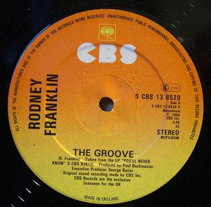 Single Cover Rodney - The Groove Franklin