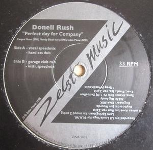 Single Cover Donell - Perfect Day For Company Rush