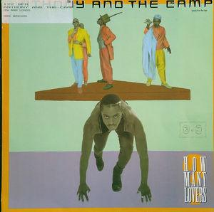 Single Cover Anthony And The Camp - How Many Lovers