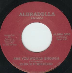 Single Cover Chuck - Are You Woman Enough Roberson