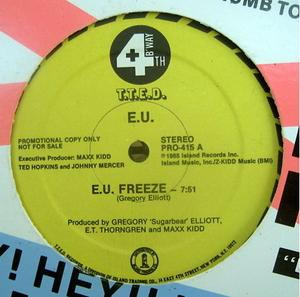 Single Cover E.u. - E.u. Freeze