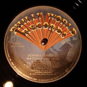 Single Cover Joanna - Watching You Gardner