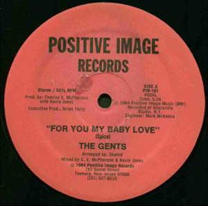 Single Cover The Gents - For You My Baby Love