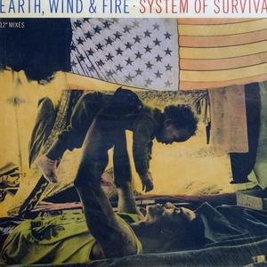 Single Cover Wind & Fire - System Of Survival Earth