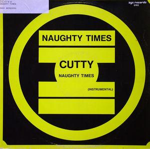 Single Cover Cutty - Naughty Times