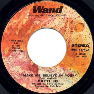 Single Cover Patti - Make Me Believe In You Jo