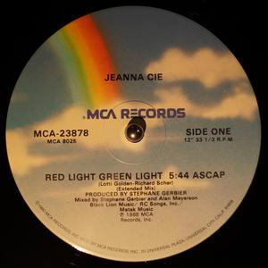 Single Cover Jeanna - Red Light Green Light Cie