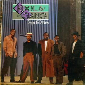 Single Cover Kool & The Gang - Rags To Riches