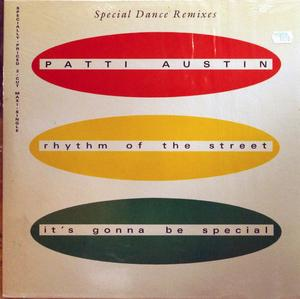 Single Cover Patti - Rhythm Of The Street Austin