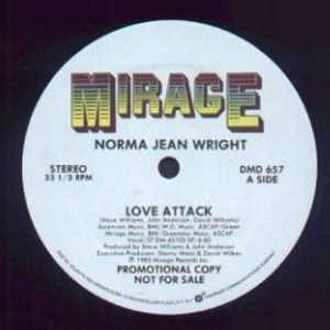 Single Cover Norma Jean - Love Attack Wright