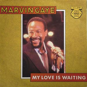 Single Cover Marvin - My Love Is Waiting Gaye