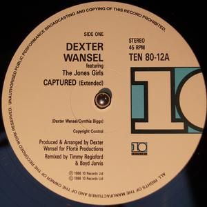 Single Cover Dexter - Captured Wansel