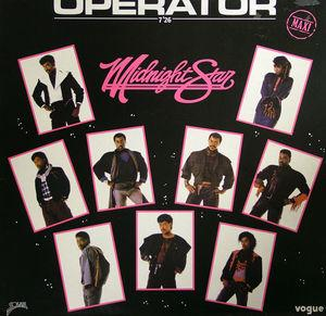 Single Cover Midnight Star - Operator