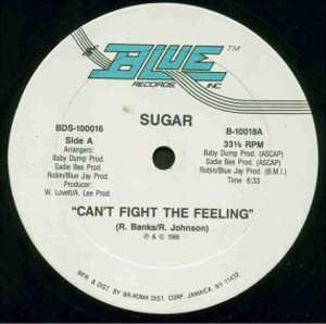 Single Cover Sugar - Can't Fight The Feeling